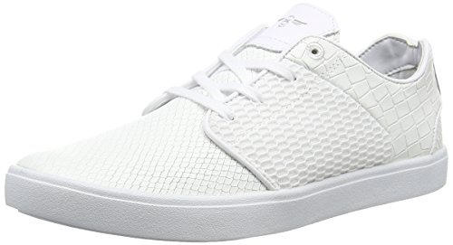 Creative Recreation Santos, Sneakers per Uomo, Colore Bianco (White (White Snake Mesh)), 44 EU (10 UK)