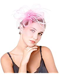 Hulday Cappellini Ladies Feltro da Cappello Donna Campana Cappello di  Feltro Stile Semplice Cappello A Cloche 9c73b3a41b90