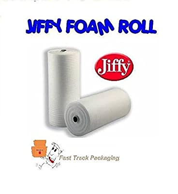 JIFFY FOAM WRAP ROLL Underlay Packing 1METRE LONG AND 500MM WIDE*LIMITED OFFER* produced by fast track wholesalers - quick delivery from UK.