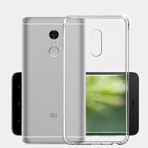 CoverKingz Schutzhülle Handy Hülle für Xiaomi Redmi Note 4X / Redmi Note 4 Handyhülle durchsichtig, Silikon Case Transparent