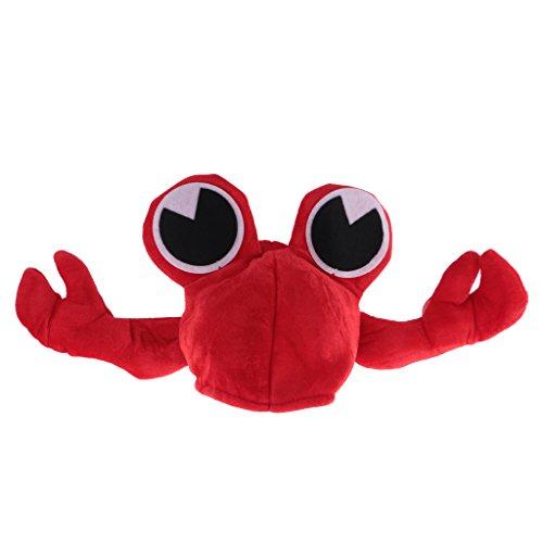 Roter Fisch Kostüm - Gazechimp Lustige Fischmütze Fischhut Fisch Hut