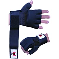 BOOM Prime Boxing Inner Neoprene Gel Gloves MMA Hand Wraps Fist Protector Bandages Support Straps Kickboxing Mitts