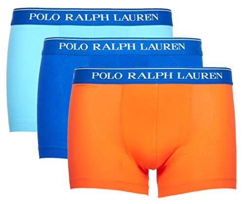 Polo Ralph Lauren Herren Boxershorts 3er Pack Classic Trunk (M, Mehrfarbig (Miscellaneous 034))