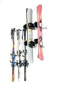 Monkey Bars Ski and Snowboard Rack by Monkey Bar Storage