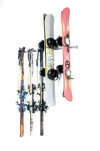Monkey Bars Ski and Snowboard Rack by Monkey Bar Storage -