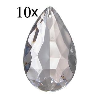 10x Antik Kristall
