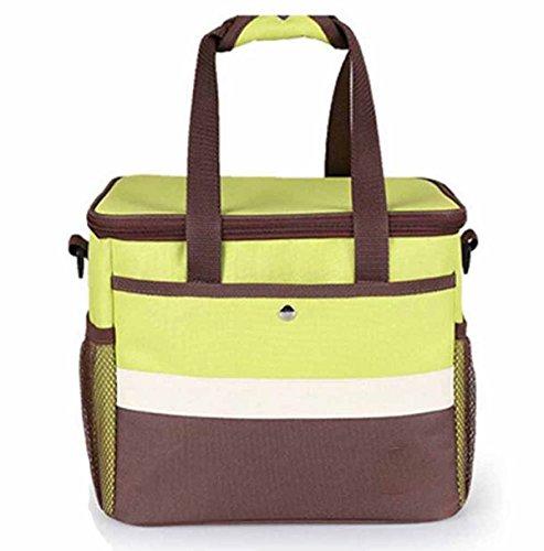 Outdoor-Picknick-Kühltasche Eisbeutel Kühltasche Auto-Kühltasche Tragbar Handtasche,A