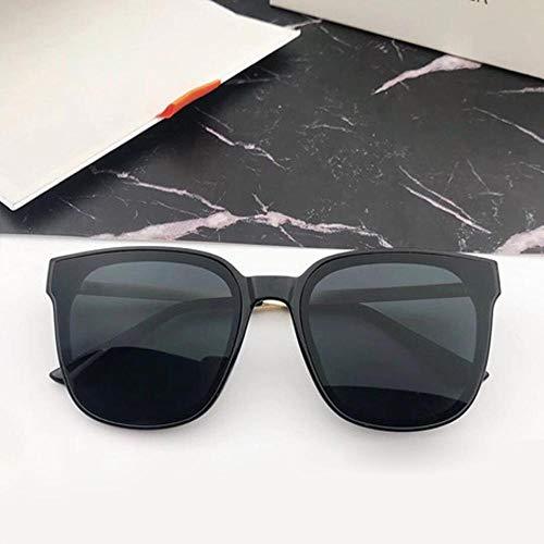 LiyuAI Sonnenbrillen für Damen Quadratische Rahmen-Sonnenbrille, Einteilige Flachlinsen für Männer und Frauen, polarisierende Gläser