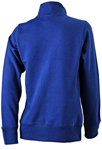 James & Nicholson Veste Sweat-shirt bleu marine