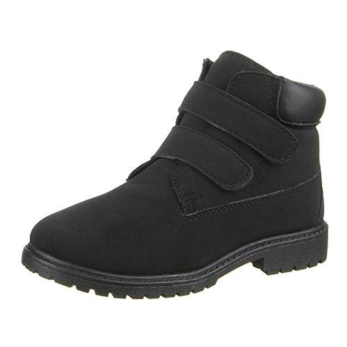 Enfants - 2 chaussures 6301C bOOTS Noir - Noir