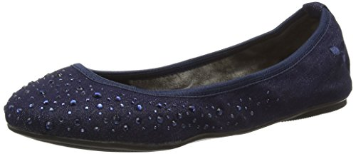 Butterfly TwistsChristina - Ballerine donna, Blu (Denim), 39 EU (6 UK)