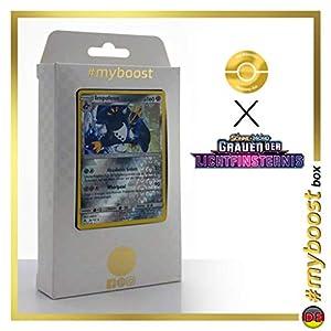 Impoleon (Empoleon) 81/131 Holo Reverse - #myboost X Sonne & Mond 6 Grauen Der Lichtfinsternis - Box de 10 Cartas Pokémon Aleman