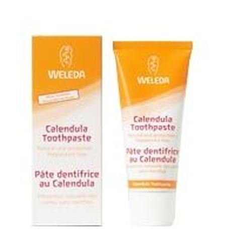 Artikelbild: (LOT DE 8) - Weleda Toothpaste - Calendula | 75ml | 8 PACK - SUPER SAVER - SAVE MONEY