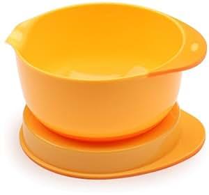Mastrad 93229 Bol Cul de Poule et Couvercle Orange 2,5 L