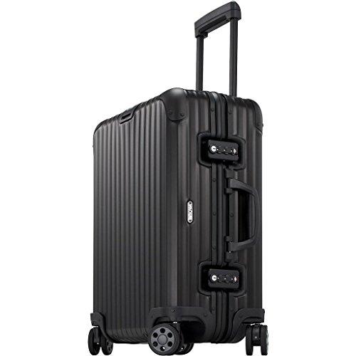 Rimowa Topas Stealth IATA Gepäckkabine Multiwheel Mattschwarz