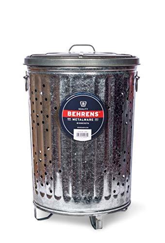 Behrens Herstellung RB20verzinktem Stahl Müll Brenner/Kompost, 20gal -