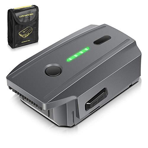 Mavic Pro Batterie Akku, ENEGON 11,4V 3830mAh Intelligenter Flug LiPo-Ersatzbatterie + Schützende Aufbewahrungstasche für DJI Mavic Pro & Platinum & Alpine White (Nicht für Mavic 2 geeignet)