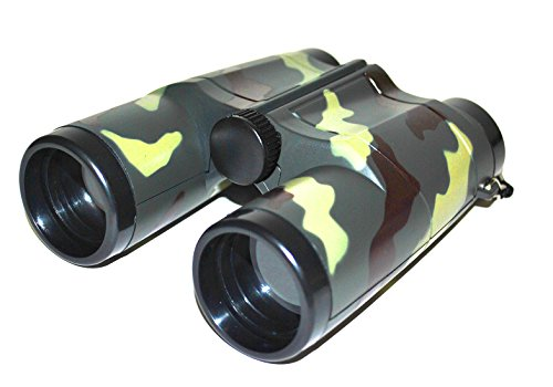 Halloweenia - Kostüm Accessoire- Military Mottoparty Army Camouflage Fernglas, 13cm Armygrün