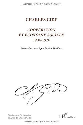 Les oeuvres de Charles Gide, volume 7 : ...