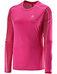 SALOMON - T-Shirt Femme - AGILE LS TEE W Rose