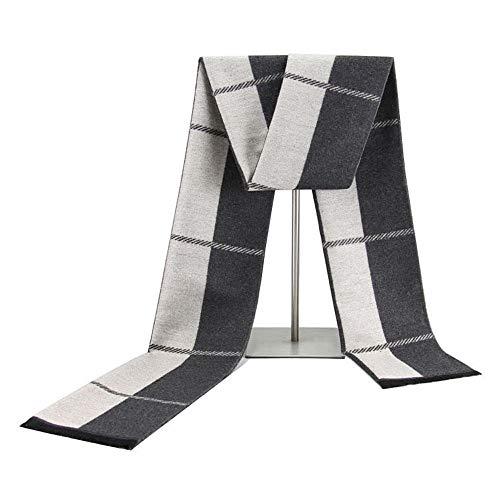 TONGDAUR Chales invierno nuevos hombres bufandas bufandas
