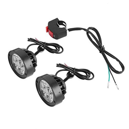 Ndier Super Clear 1000 lm Motorrad LED Scheinwerfer Lampe Roller Nebelscheinwerfer - Roller Für Scheinwerfer