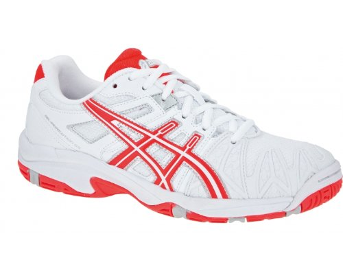 ASICS GEL-RESOLUTION GS Junior Tennisschuh Weiß