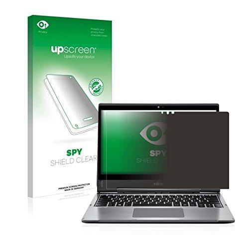upscreen Spy Shield Clear Blickschutzfolie / Privacy für Fujitsu Lifebook T935 (Sichtschutz ab 30°, Kratzschutz, selbstklebend)
