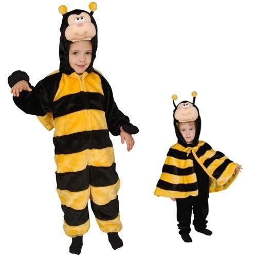 Little Honey Bee Costume Set - Size 4 by Dress Up America (Honey Bee Kostüm)