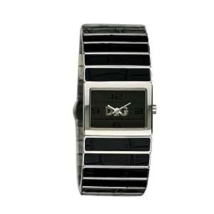 Dolce & Gabbana - DW 0080 - Montre Mode Femme - Quartz analogique - Passion de Ibiza - Bracelet en acier Noir