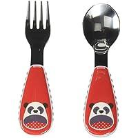 Skip Hop SH252362 Toddler cutlery set Negro, Rojo, Plata Acero inoxidable cubierto para niños