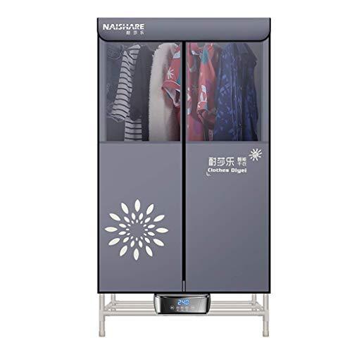 Clothes dryer asciugatrice vestiti domestica aria calda 1300 w stendibiancheria elettrica doppio strato asciugatura rapida asciugatura ad aria per guardaroba, 75 * 55 * 155cm
