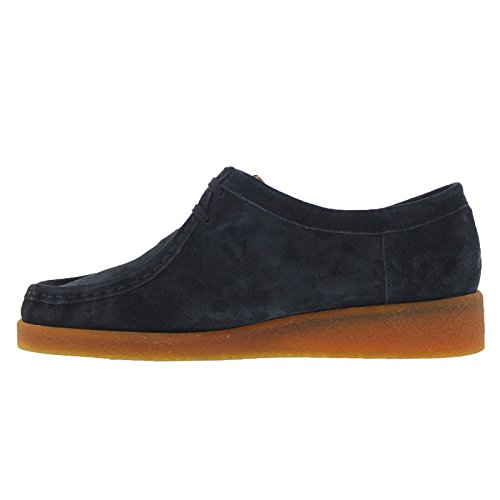 Mephisto Womens Christy Suede Shoes Blue