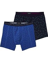 Scotch & Soda Men's allover Printed Multi Color Boxer Thermal Trousers