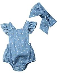 a54320b08 Amazon.es  bebe recien nacido - Vestidos   Niñas de hasta 24 meses  Ropa