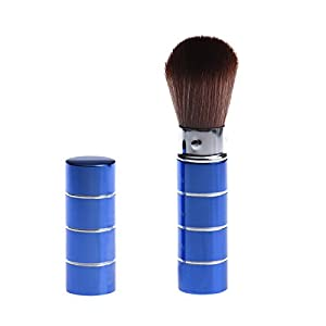 Generic D: Women' s Fashion Retractable Metal Brush Cosmetic Makeup Brushes Powder Foundation Blusher Brush Tool #Y