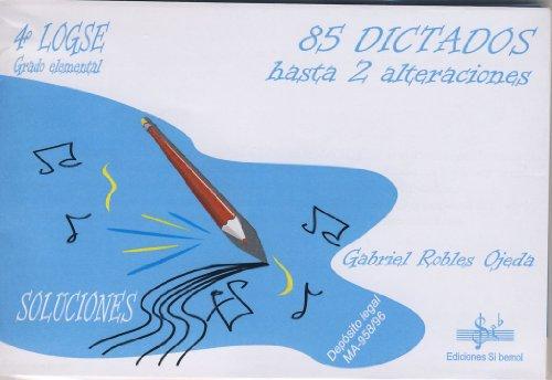 SIBEMOL - Dictados 4º: 85 Dictados hasta dos alteraciones (Inc.3 CD) (Robles)