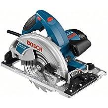 Bosch GKS 65 GCE Professional - Sierra circular, hoja de sierra para madera, adaptador de aspiración, 1800 W