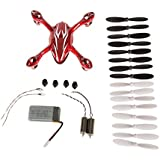 The Hubsan X4 H107C Quadcopter Red/White Crash Pack