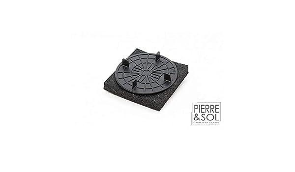 RC Plot Fixe 19 mm sur support polyur/éthane Dalle C3//4T Solidor