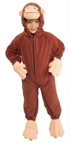 Curious George Toddler (Curious Kostüm Erwachsene George)