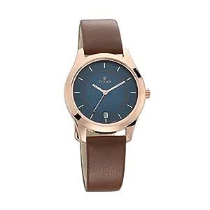 Titan Neo Analog Blue Dial Women's Watch -NL2596WL03