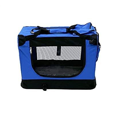 Oypla Portable Pet Dog Cat Rabbit Puppy Carrier Transport Crate Cage by Oypla