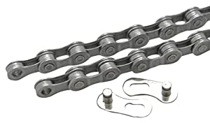 Clarks 7-8 Speed Anti-Rust Chain, 1/2 x 3/32 Inches x 116 Quick Release Links