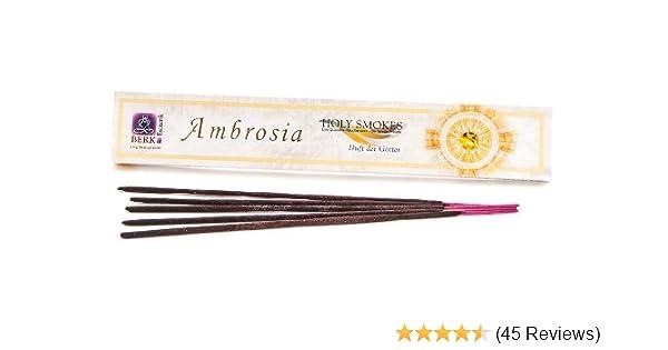 10 g Duft der Götter 100g//19,90€ Holy Smokes Ambrosia, Räucherstäbchen