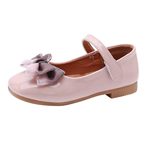 Gtagain Zapatos Merceditas Niñas - Bailarinas Niños Danza Zapatos de Baile Elegantes Bowknot Princesa...