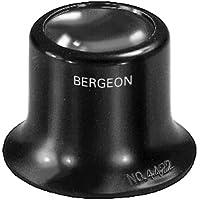 BERGEON - Lente di ingrandimento per orologiaio, 4 x - lente Bikonvexe - Attrezzo speciale professionale per lavori di…