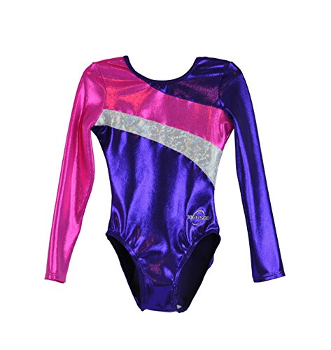 obersee-girls-long-arm-diagonal-gymnastics-leotard-violet-2x-petit