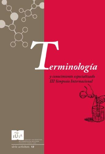 Terminología y conocimiento especializado (IULA (UPF))