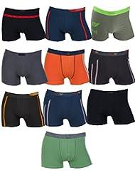 10 Remixx Retro para hombre calzoncillos bóxer varios colores tamaño M L XL XXL
